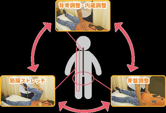 図:3循環調整法